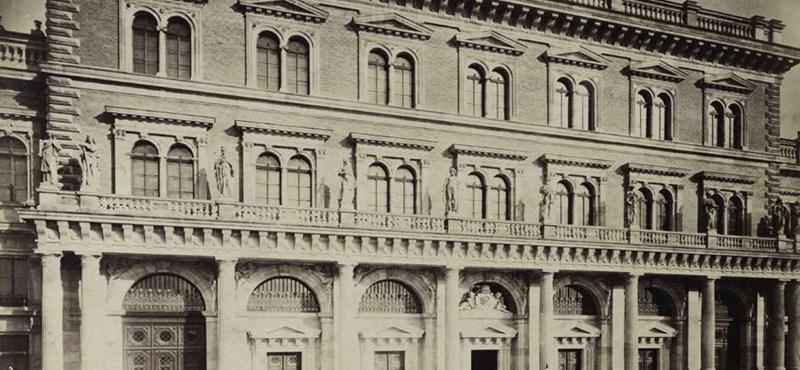 Zseniális fotók a Corvinusról: így festett az egyetem épülete 140 éve