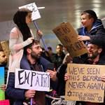 Muszlimok és zsidók Trump rendelete ellen