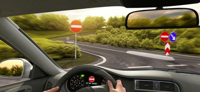 Az egyik legnagyobb sofőrhiba, amikor valaki a forgalommal szemben hajt – van megoldás ellene