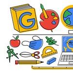 Az első tanítási nap miatt változott ma a Google logója