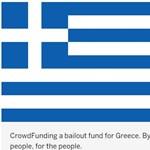 Egy hebehurgya nekiállt összegyűjteni a görög mentőcsomagot