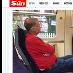 Megleckéztették a brit vasút legbunkóbb utasát