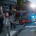 Galéria: Kemény tiltakozások a hamburgi G20-csúcson