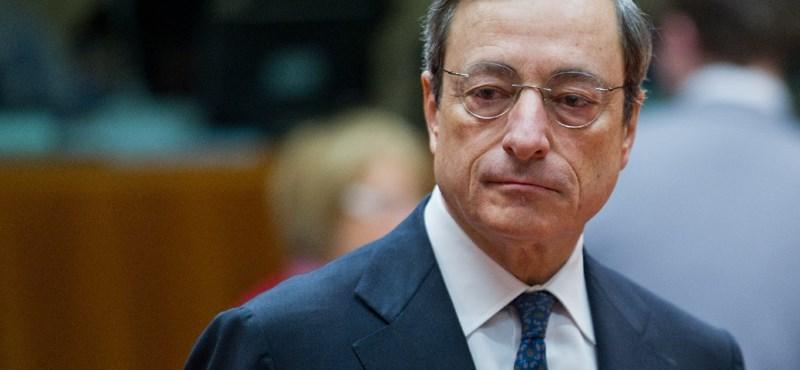 """Mario Draghi: """"nincs kétségem az euró erejét, állandóságát és visszavonhatatlanságát illetően"""""""