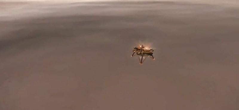 Itt az első tiszta fotó a Marsról, amit a hétfőn landolt InSight szonda készített