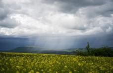 Zivatarok miatt másodfokú riasztást adott ki a meteorológiai szolgálat