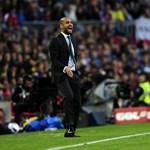 """Guardiola: """"csak a gólunk hiányzott"""""""