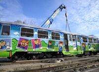 Fotókon a Gyermekvasút csodásan felújított téli kocsija
