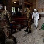 Egy tartományt kivéve lassan egész Olaszország fellélegezhet