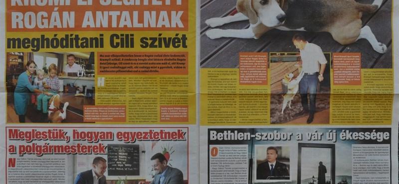 Rogán Krumpli és Antal uralja az V. kerületi ingyenes újságot