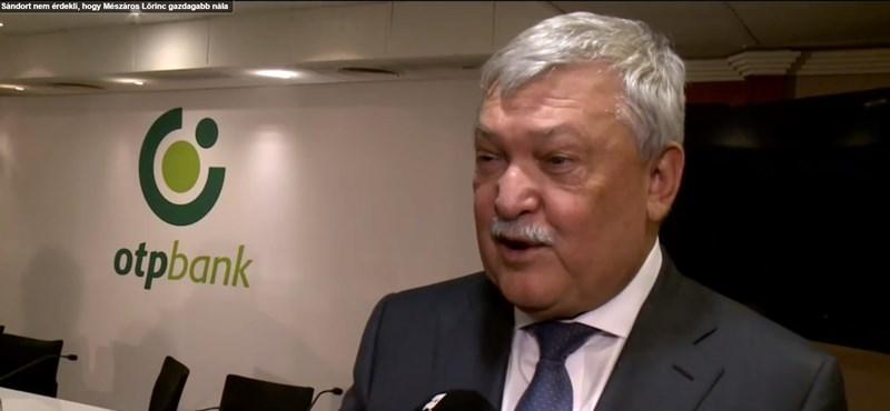 Csányi Sándor: Orbán mindig kifizette, amikor az OTP magángépén utazott