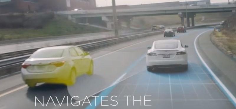Nézze csak: így veszi le a sofőr válláról a terhet a Tesla – videó