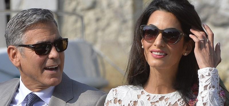 Háromezer menekültet küld iskolába Amal és George Clooney