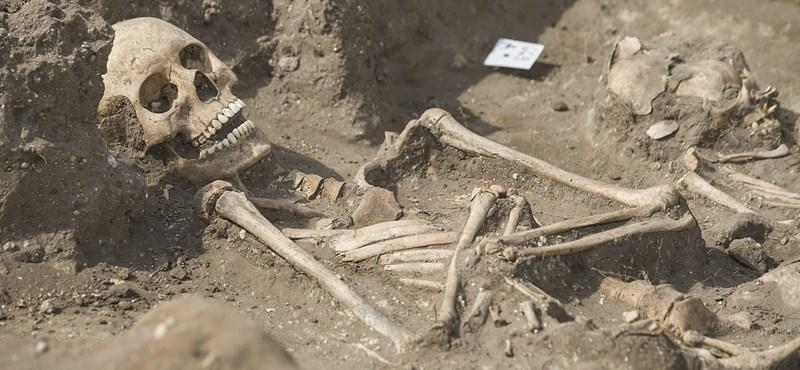 Megvizsgálták az egymás kezét fogó csontvázakat, aztán jött a meglepetés