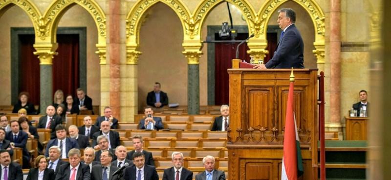 Megszavazta a parlament Orbán népszavazását