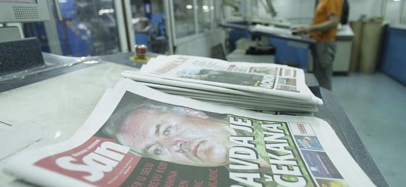 Belga lap: felszabadulással ér fel Mladics elfogása