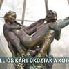 Összetörték az értékes Zsolnay-szökőkutat Harkányban - videó