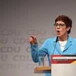 Lemondásáról beszélt a CDU vezetője