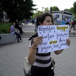 """""""Miért veszik el a jövőnk?"""" - újabb flashmob a kormány oktatáspolitikája ellen"""