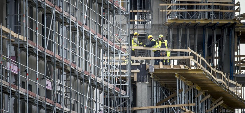 Oda tért vissza a magyar építőipar teljesítménye, ahol 2018 júliusában állt