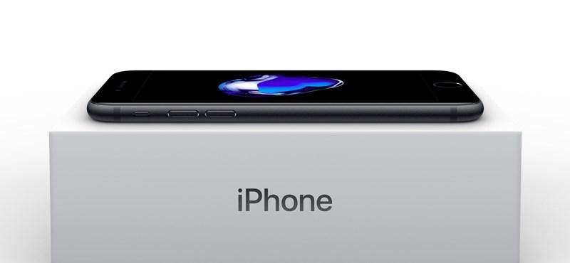 Itt vannak az iPhone 7 magyar árai