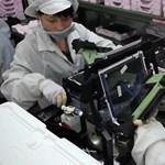 Foxconn: nem kényszerítettek munkára diákokat a kínai gyárban