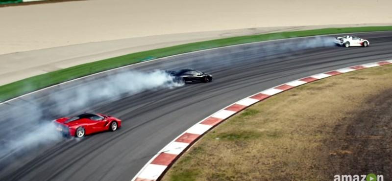 Októberben folytatódik az ellen-Top Gear, vagyis a The Grand Tour