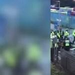 Durva villamosbaleset Londonban, rengetegen megsérültek