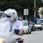 Autók százaival vonultak fel a vidéki tüntetők