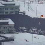 Hatalmas földcsuszamlás történt Norvégiában, 21 ember eltűnt