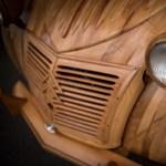 Fotók: Hamarosan az utakat szelheti a fából épített Citroën Kacsa
