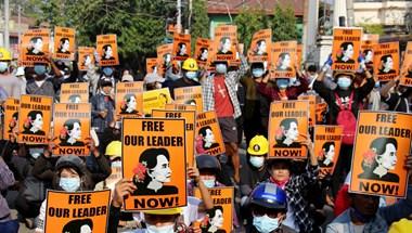A mianmari tüntetések legvéresebb napja volt a szerdai, 38 ember halt meg