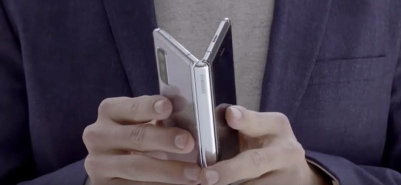 Itt az első fotó a megjavított Samsung Galaxy Foldról