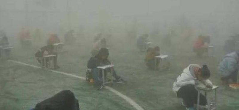Brutális körülmények között írtak vizsgát a diákok, felfüggesztették az igazgatót