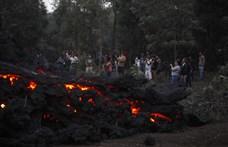 Városokat fenyeget a Pacaya vulkánból kiáramló láva – videó