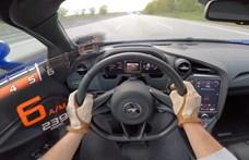 Meg sem kottyan a 330 km/h-s tempó a McLaren 720S-nek az Autobahnon