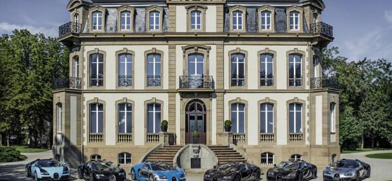 Itt a hat különleges Bugatti Veyron, ami összesen négy milliárdot ér