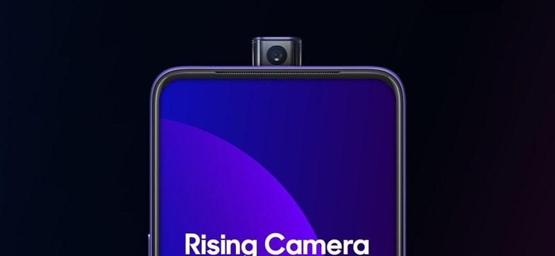 48 megapixeles, keretből előbújó kamerával jött meg az Oppo új mobilja