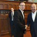 Szijjártó jelenti Moszkvából: stadiont építünk az oroszoknak 17,5 milliárdért