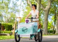 Új temetői jármű: még neve sincs az utolsó utakat lebonyolító biciklinek