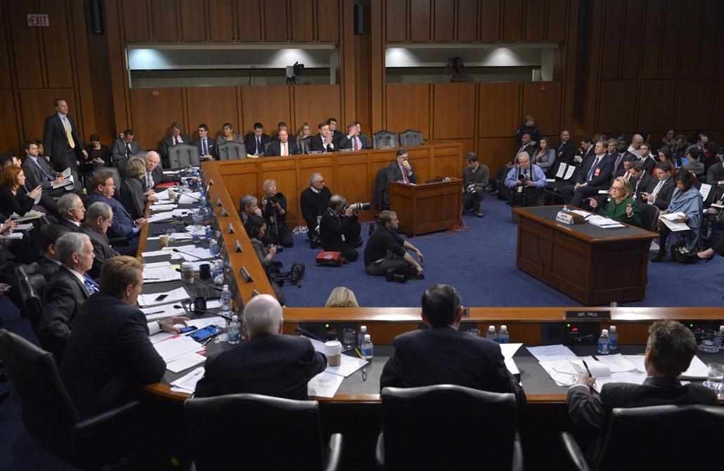 2013.01. - Hillary Clinton meghallgatása - Benghazi  - CLNTNAGY