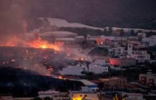 Több száz embert kitelepítettek La Palmán a vulkánkitörés miatt