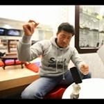 Szöul legjobb egyensúlyozó művésze (videó)