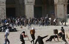 Jeruzsálem-nap: Reggel kőzápor és könnygáz, este megindult a rakétázás is