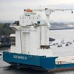 Elszabadult uszály fenyegette a fúrótornyokat az Északi-tengeren