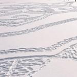 Bámulatos műalkotást tapostak a hóba önkéntesek Finnországban