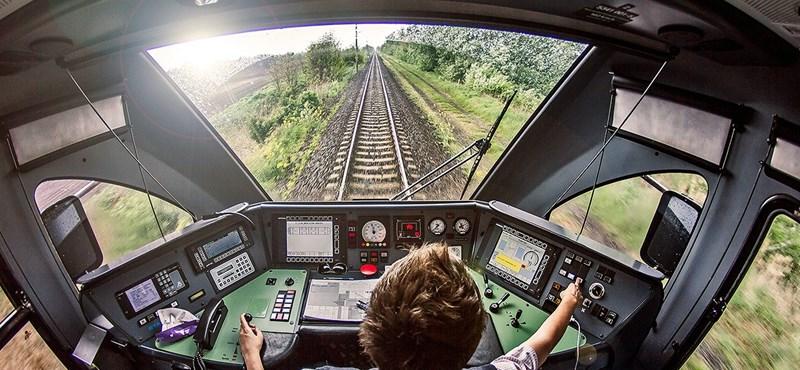1 km is lehet egy vonat féktávja – figyelmeztet a mozdonyvezető