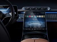 Übermodern lesz az új Mercedes S-osztály utastere