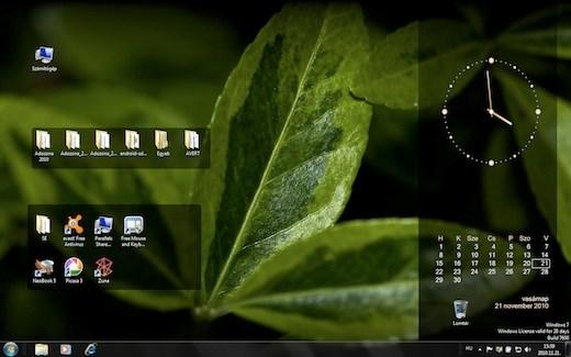 naptár asztalra letöltés Tech: Óra és naptár a Windows Asztalán, tetszés szerint  naptár asztalra letöltés
