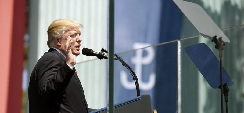 """Donald Trump: """"a lengyel nép Európa lelke"""""""